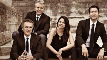The Pacifica Quartet.
