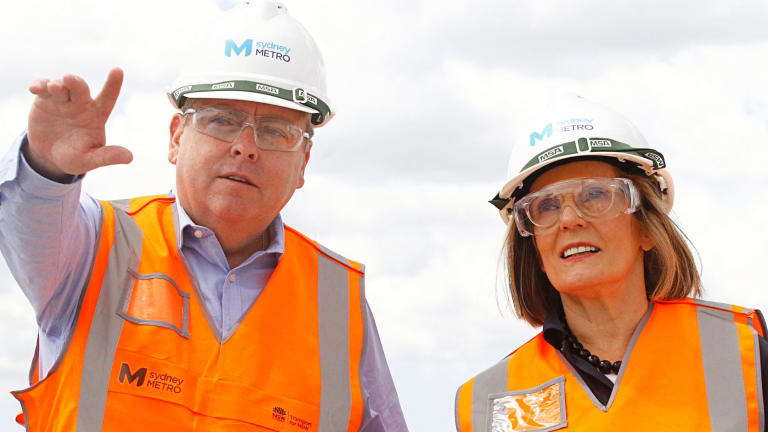 Planning Minister Anthony Roberts (seen here with Greater Sydney Commission chief commissioner Lucy Turnbull) said the SEPP 70 program has already proved to be a success.