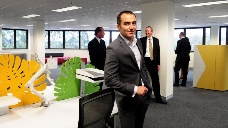 The Woden Group spokesman Shane Quinn: wants 2000 new jobs in the town centre  during the next 18 months.