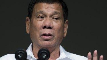 Rodrigo Duterte has taken a hard-line in journalists.