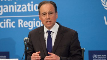 Federal Health Minister Greg Hunt said Australia was well prepared to respond to pandemics within its own borders.