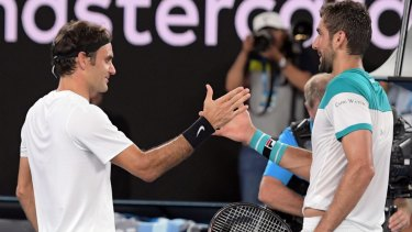 The two combatants delivered a diverting final as Federer continued his march into rare territory.