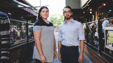 Sarah Bowley and Joel Wilson both experienced discrimination in the Australian Defence Force while transitioning gender.