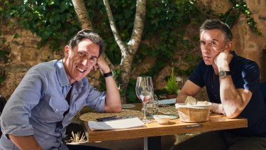 Rob Brydon and Steve Coogan continue the verbal sparring on their latest jaunt.