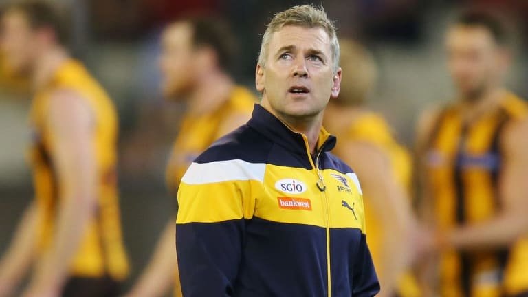 Adam Simpson lacks tactical answers with his one-dimensional Eagles.