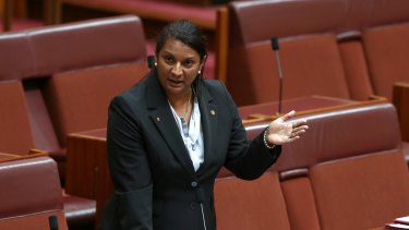 """Labor senator Nova Peris has praised Stan Grant as a """"forward thinker"""" who would be an asset to any political party."""