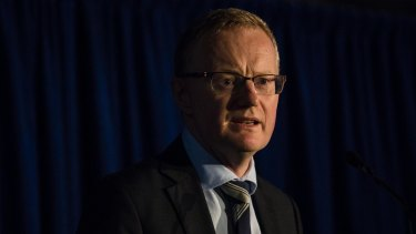 RBA governor Phil Lowe is unhappy with the prospect of continued low wages growth.