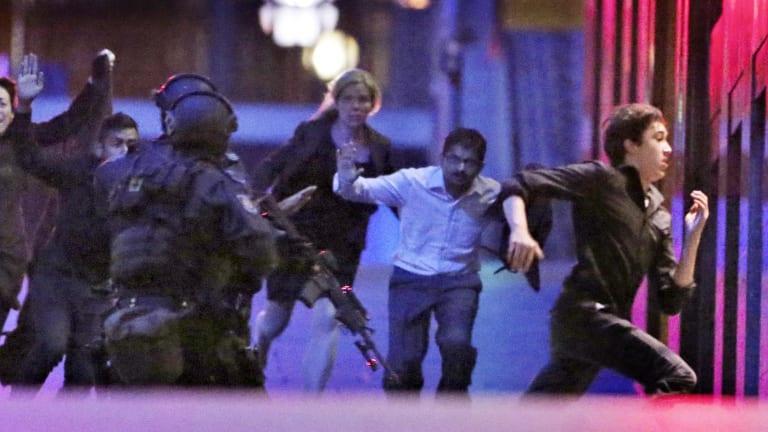 The State Coroner Michael Barnes asked the office of the Chief Coroner of England and Wales to identify experts in British police forces to help in the review of the Lindt cafe siege.