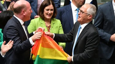 After an insipid year, Malcolm Turnbull will still be remembered as the prime minister who introduced marriage equality.