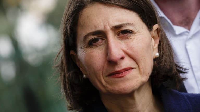 """Of council elections, Premier Gladys Berejiklian said she was """"pleased with the outcome across the board because the community has had its say""""."""