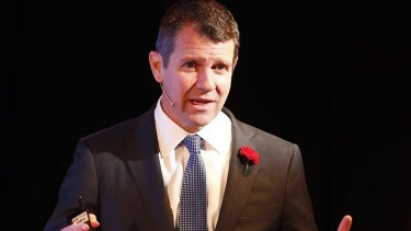 Premier Mike Baird declared Mr Gallacher was not welcome to rejoin the Liberals.