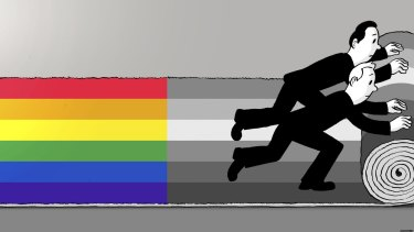 Rolling out the next vote on marriage equality.