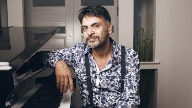 Safe haven: Dr Kooshyar Karimi at his home in northern Sydney.
