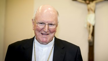 Melbourne Archbishop Denis Hart.