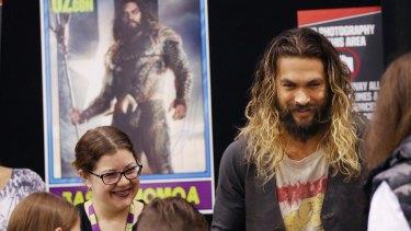 Jason Momoa, star of DC's Aquaman, currently filming in Australia.