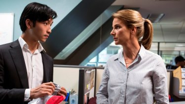 Rachel Griffiths is on a mission in new crime drama Dead Lucky.