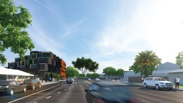 Artists impressions of the proposed redevelopment.