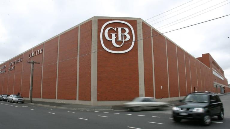 CUB's Abbotsford brewery.