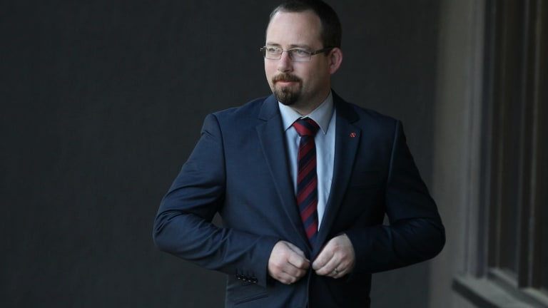 """I am forced into a corner to decide between a bad decision or a worse decision"": AMEP Senator Ricky Muir on casting the final vote that allowed the new asylum seeker laws to pass the Senate."