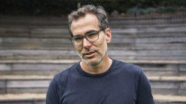 Author Steven Amsterdam.