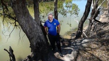 Indigenous leader Paul Briggs grew up at Cummergunja Aboriginal Mission, on the Murray River.