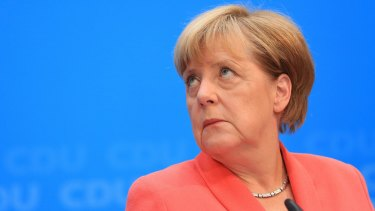 "Angela Merkel: ""I take responsibility as party leader and Chancellor."""