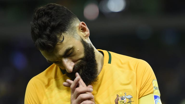 Jedinak tipped to play: Socceroos captain Mile Jedinak is likely to play against Honduras.