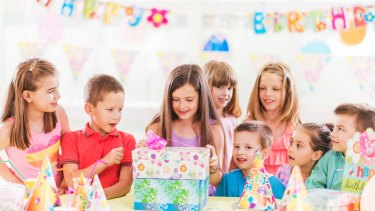 Shop in bulk for kids' presents - and don't go overboard.