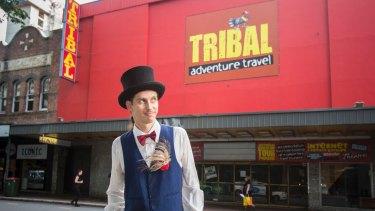 Daniel Endicott wants to prevent Hillsong taking over the former Lyceum/Dendy/Tribal theatre.