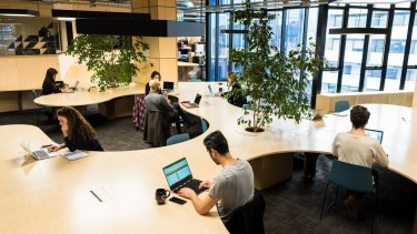 Co-working, such as at The Commons, often offers member benefits including connections with international networks of similar spaces.