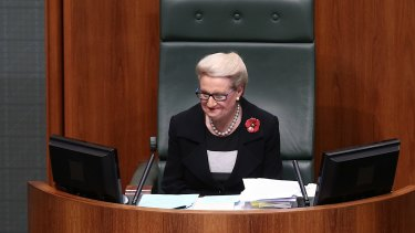 """""""I don't care if Tony Smith's the Speaker now: if he wants his chair back, he's going to need a lot of gumption and a crowbar."""""""
