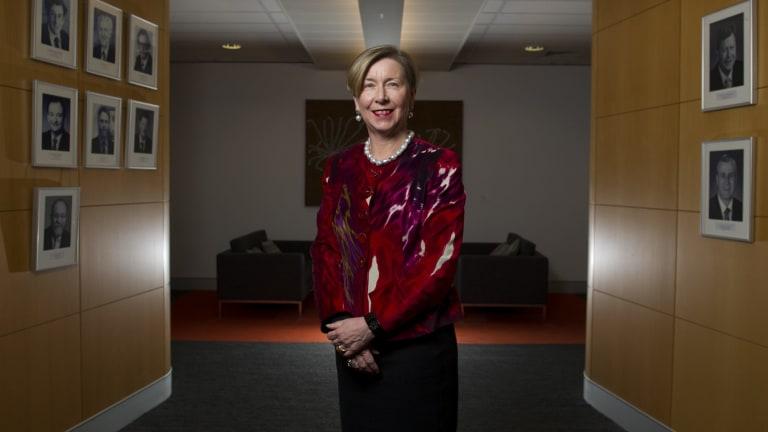 Finance Department head Jane Halton spoke of small people stamping their feet.