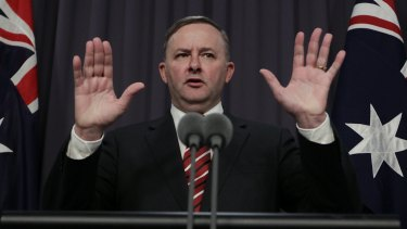 'Alboed' out: Member for Grayndler, Labor stalwart Anthony Albanese, is the lesser of two evils for the right-wing press.