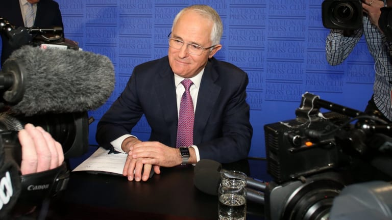 Many talk now as though Malcolm Turnbull's catastrophic descent into hypocrisy was patently preordained.