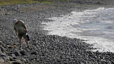 Debris continues to wash up on Reunion Island.