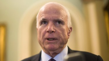 "Arizona senator John McCain said the ""Taliban Five"" were the ""hardest of the hard-core""."