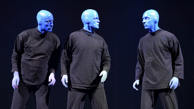 In July the company took on New-York-based Blue Man Productions, best known for the Blue Man Group show.