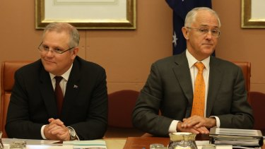 Treasurer Scott Morrison and Prime Minister Malcolm Turnbull were reportedly overruled in cabinet.