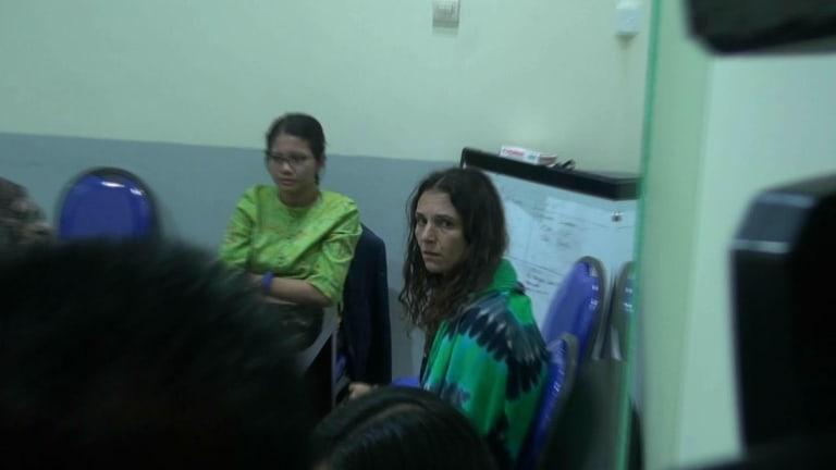 Sara Connor at Denpasar Police Station.