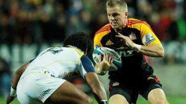 From Super Rugby to Six Nations: former Chiefs and Blues playmaker Gareth Anscombe is set to represent Wales.
