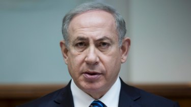 Israeli Prime Minister Benjamin Netanyahu (pictured) phoned New Zealand's Foreign Minister with a warning.