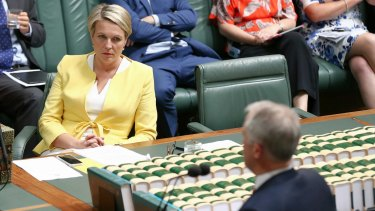 Deputy Opposition Leader Tanya Plibersek and Prime Minister Malcolm Turnbull have found themselves at odds over a skate park.