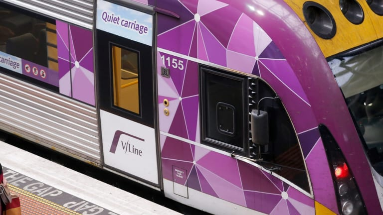 V/line paid Alan Clifford more than $500,000 a year.