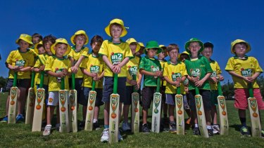 The Edinburgh Cricket Club goes into bat for Milo.