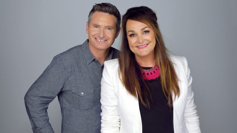 2DayFM's gain: KIIS FM's Dave Hughes and Kate Langbroek end 2017 on a high note.
