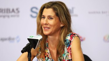 One of the greats: Monica Seles.