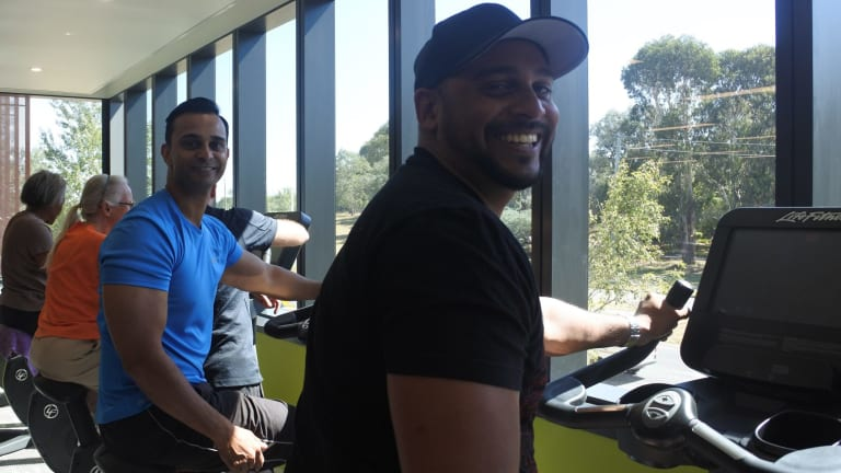 New 20 million southern cross club gym opens in woden for Pool builders yamba