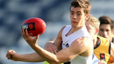 Josh Dunkley was one of the most intriguing stories in Tuesday night's draft.