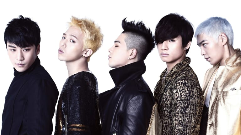 K-pop band: Big Bang