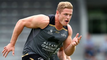Free to play: South Sydney's George Burgess.